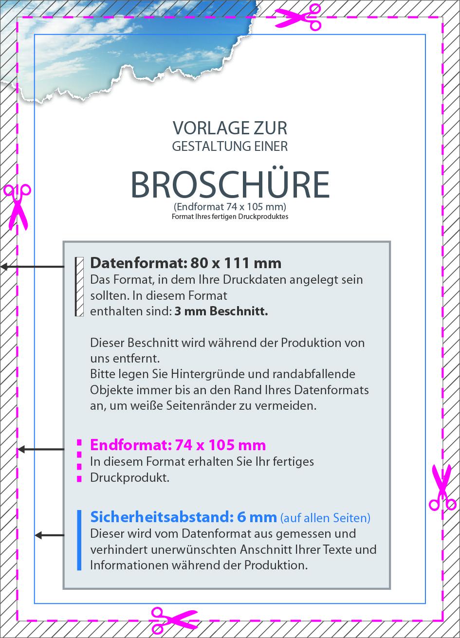 Produktbeschreibung: Broschüre mit Ringösen, Endformat DIN A7, 80-seitig